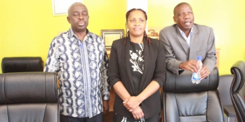 ITUC-Africa SG Kawasi Adu-Amankwah visits ZLHR on a fact finding mission Feb 2019